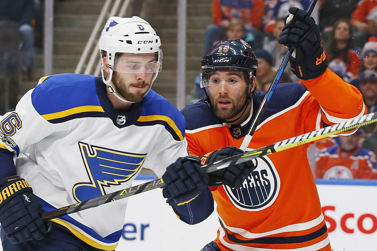 finest selection d95e5 5a90d Why the Blues Need A Patrick Maroon